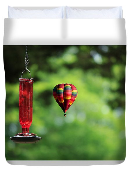 Refueling Duvet Cover by Don Gradner