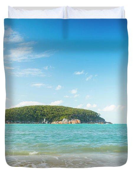 Refuge Cove Wilsons Promontory Duvet Cover