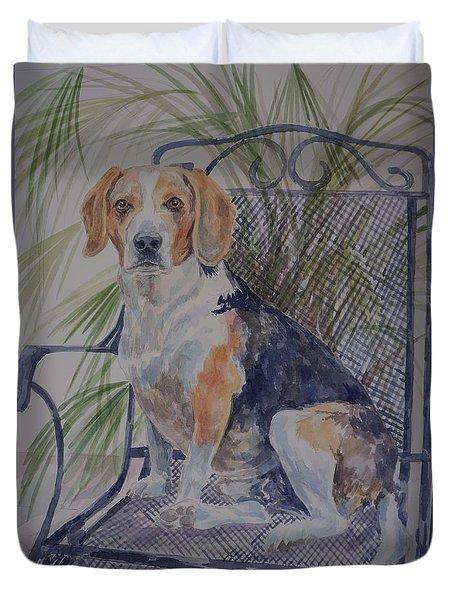Regal Beagle Duvet Cover