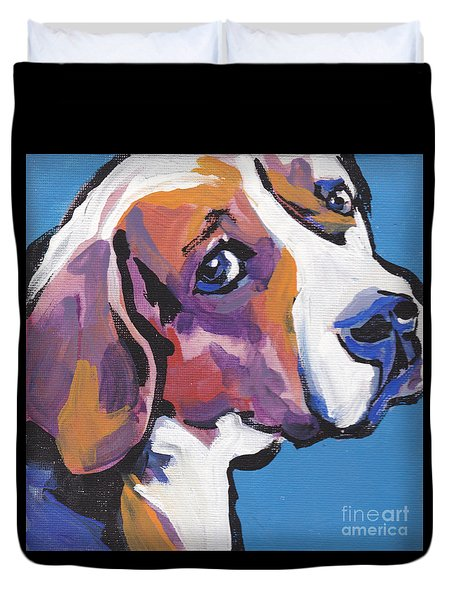 Regal Beagle Duvet Cover by Lea S