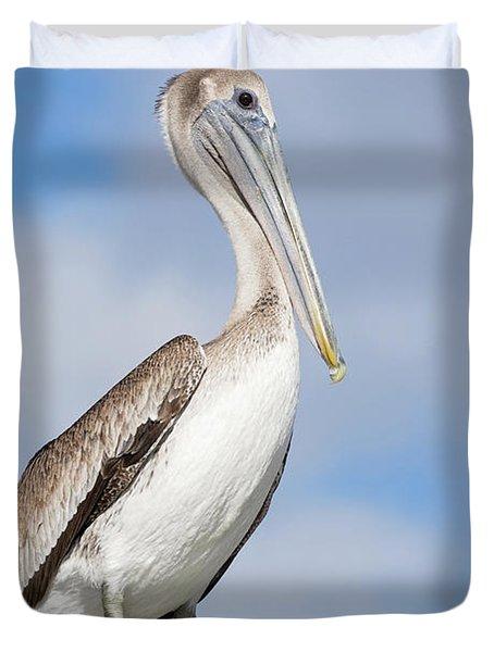Regal Bird Duvet Cover