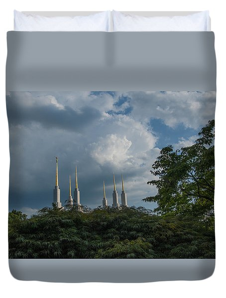 Regal Spires Duvet Cover