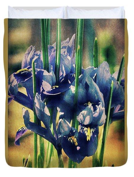 Duvet Cover featuring the photograph Regal Splendour  by Connie Handscomb