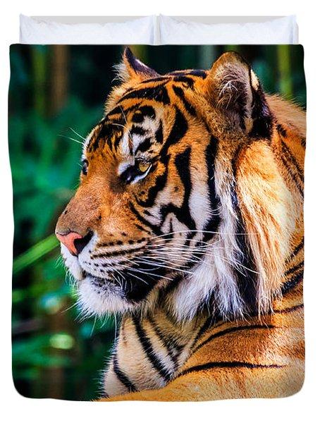 Regal Tiger Duvet Cover