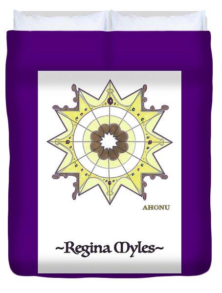 Regina Soul Portrait Duvet Cover