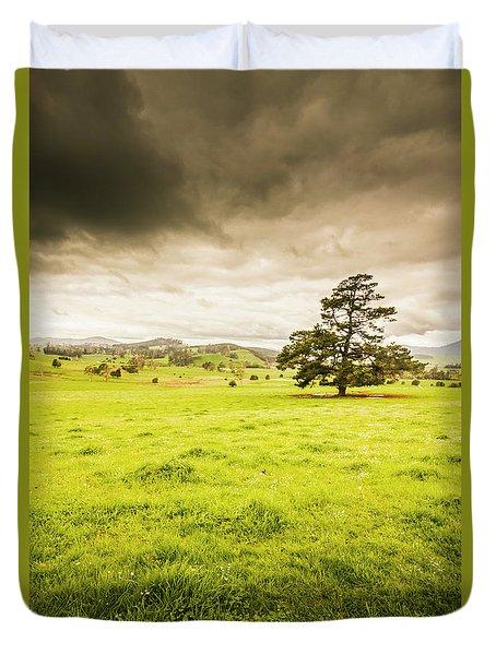 Regional Rural Land Duvet Cover