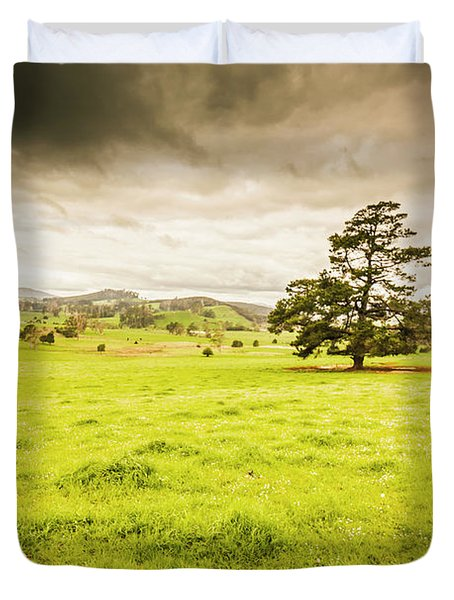 Regional Rural Land Duvet Cover