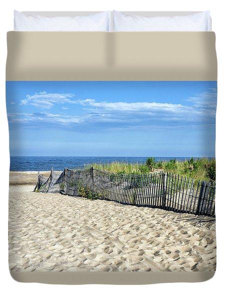 Rehoboth Delaware Duvet Cover by Brendan Reals