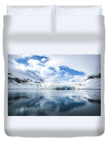Reid Glacier Glacier Bay National Park Duvet Cover