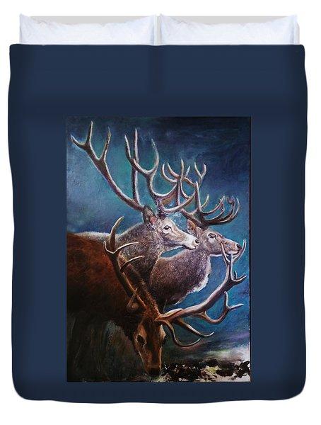 Reindeers Duvet Cover