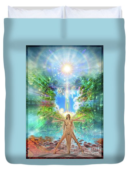 Rejoice-thy-young II Duvet Cover