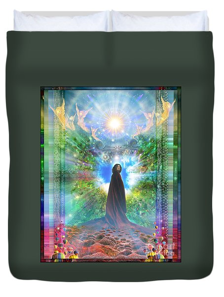Rejoice-thy-young Duvet Cover