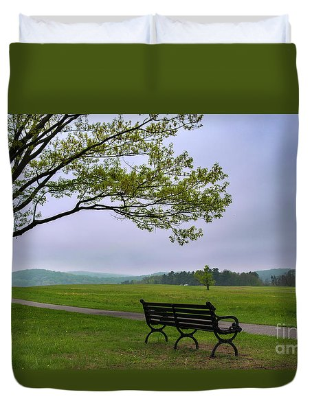 Relax And Enjoy The Nature Duvet Cover