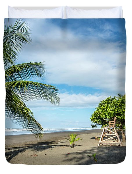 Relaxation At The Beach Duvet Cover