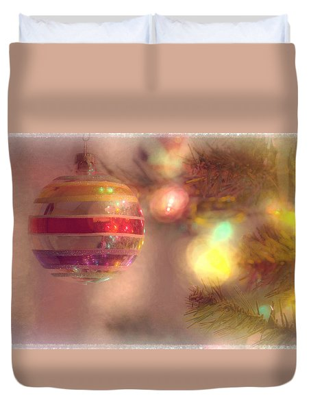 Duvet Cover featuring the photograph Relaxed Holiday by Christina Lihani