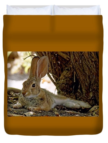 Relaxing Cottontail Duvet Cover