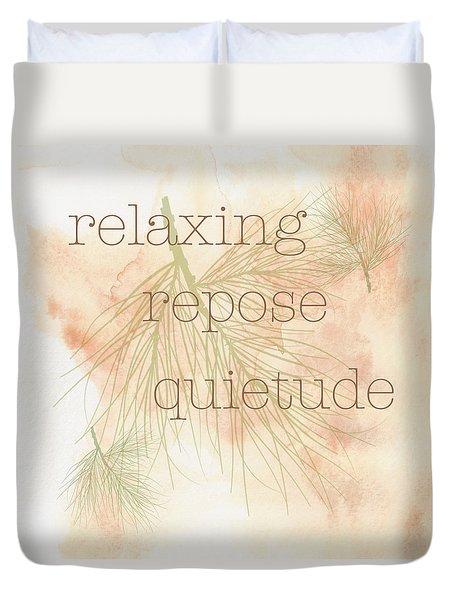 Relaxing Duvet Cover
