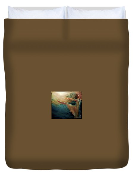 Releasing Of The Soul Duvet Cover