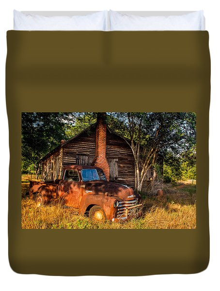 Relics Of The Past Duvet Cover