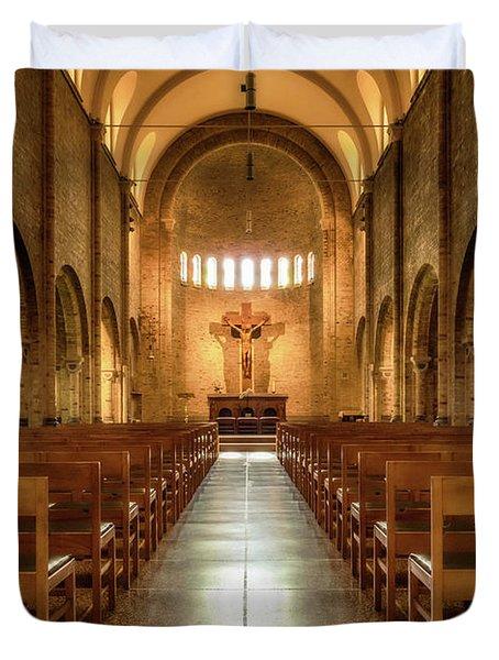 Religious Path Duvet Cover