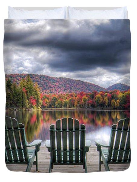 Relishing Autumn Duvet Cover
