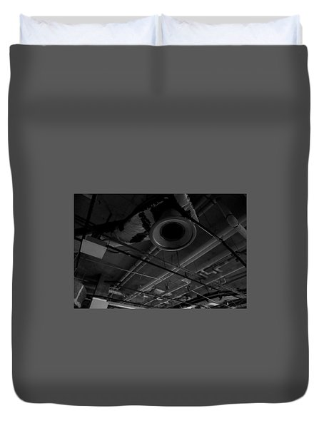 Remains Of Time Duvet Cover