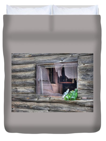 Remains Of Visitors  Duvet Cover