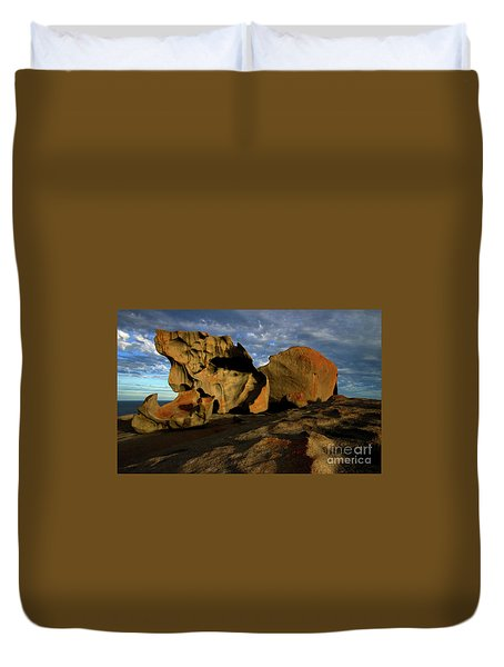 Remarkable Duvet Cover by Mike Dawson
