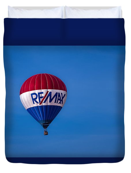 Remax Hot Air Balloon Duvet Cover