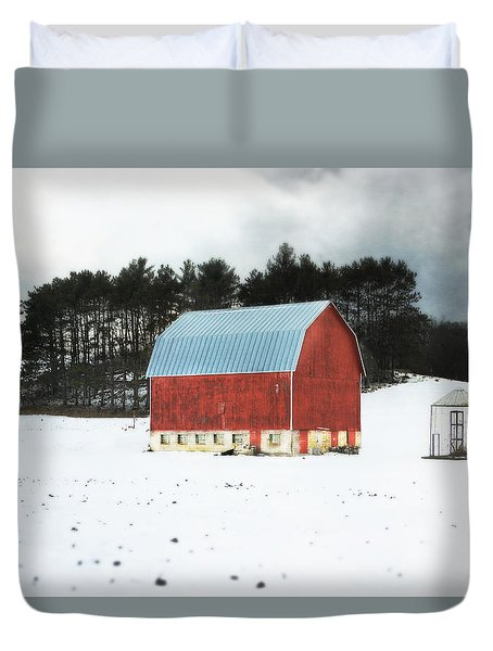 Duvet Cover featuring the photograph Rembering The Good Old Days by Julie Hamilton