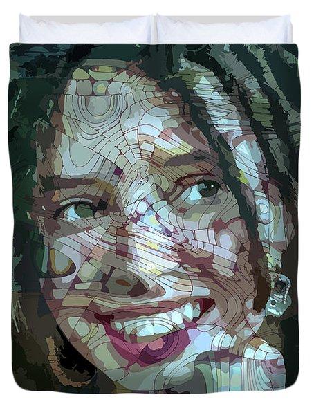 Remember Me Duvet Cover by Moustafa Al Hatter