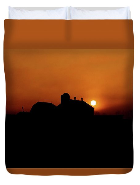 Duvet Cover featuring the photograph Remember The Sun by Robert Geary