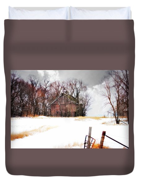 Duvet Cover featuring the photograph Remember When by Julie Hamilton