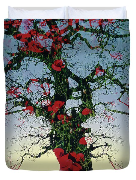 Remembrance Tree Duvet Cover