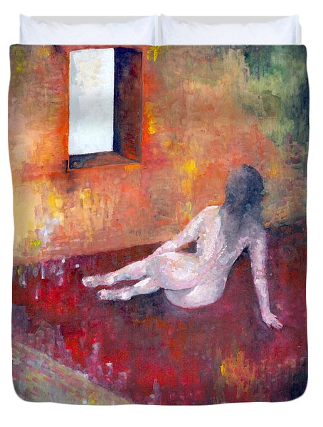Remembrance Duvet Cover by Wojtek Kowalski