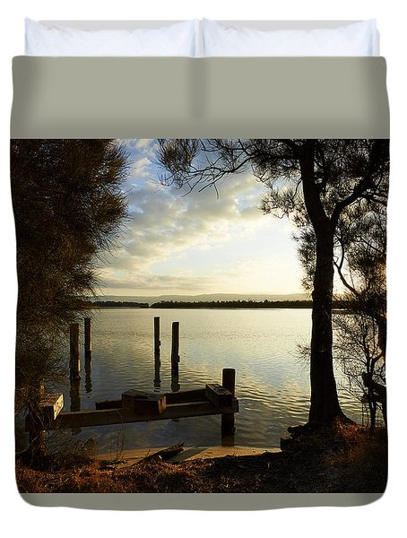 Reminders Of The Past Duvet Cover
