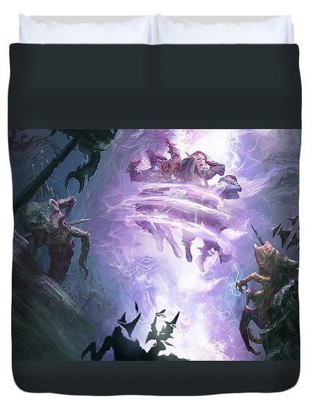 Remorseless Punishment Duvet Cover