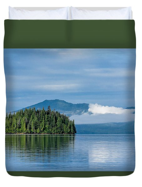 Remote Beauty Duvet Cover by Don Mennig