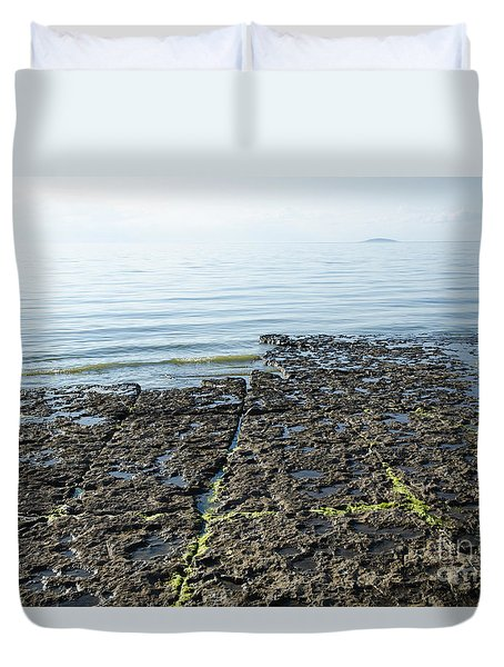 Remote Island Duvet Cover