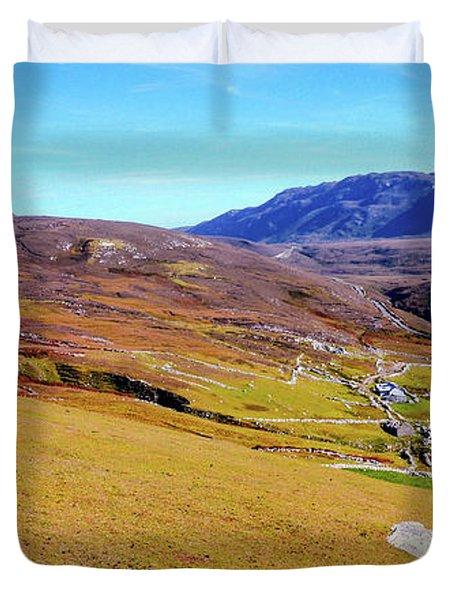 Remote Port - Donegal Ireland Duvet Cover
