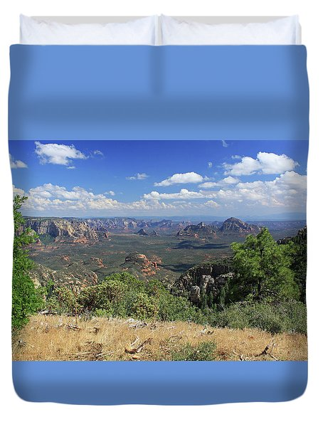 Remote Vista Duvet Cover