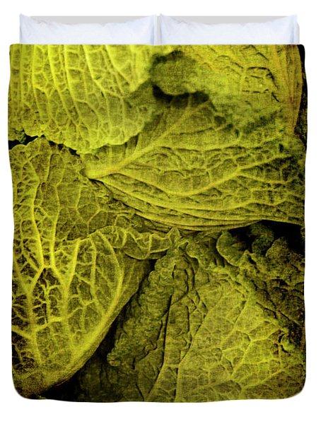 Renaissance Chinese Cabbage Duvet Cover