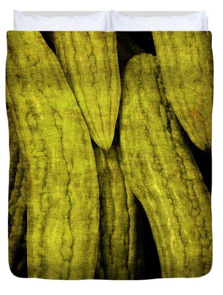 Renaissance Chinese Cucumber Duvet Cover