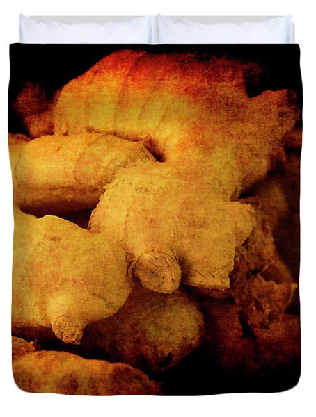 Renaissance Ginger Duvet Cover