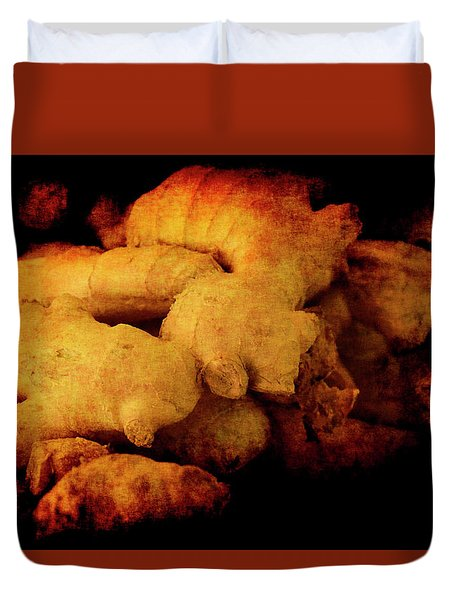 Duvet Cover featuring the photograph Renaissance Ginger by Jennifer Wright