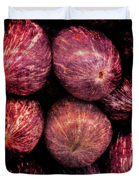 Renaissance Turkish Eggplant Duvet Cover
