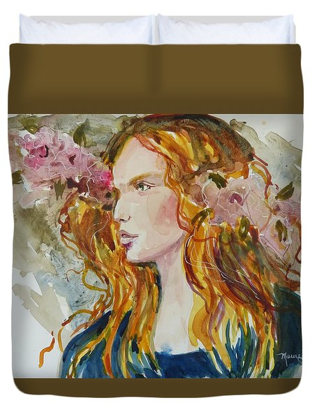 Renaissance Woman Duvet Cover