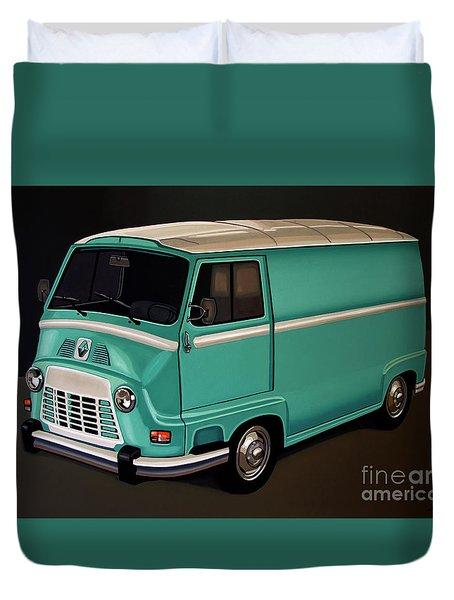 Renault Estafette 1959 Painting Duvet Cover
