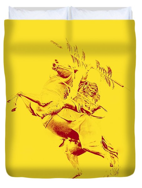 Renegade And Chief Osceola Duvet Cover