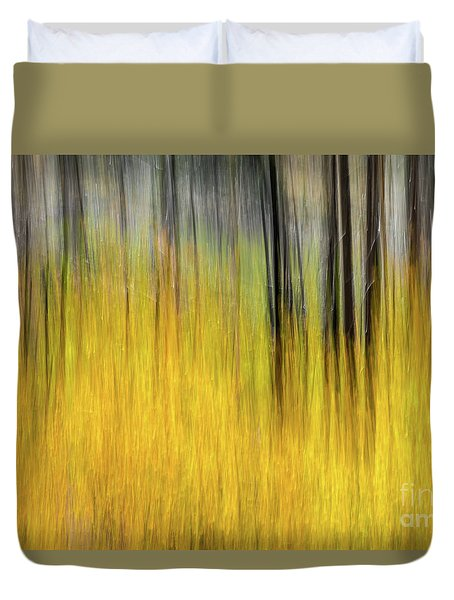 Renewal Abstract Art By Kaylyn Franks Duvet Cover